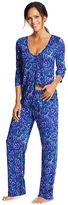 Maidenform Women's Pajamas: Button-Front Top & Pants PJ Set