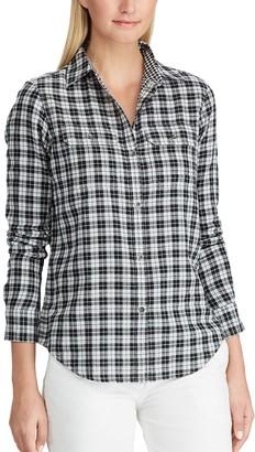 Chaps Women's Checked Shirt