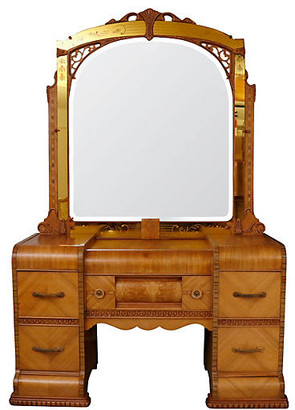 One Kings Lane Vintage Eastlake Period Vanity - Interesting Things