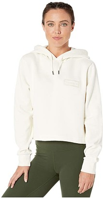 Hunter Cropped Hoodie (Off-White) Women's Clothing