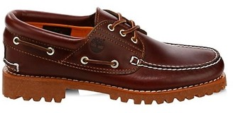 Timberland Authentics Hand-Sewn Leather Boat Shoes