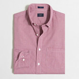 J.Crew Factory Slim washed shirt in mini-gingham