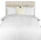 Gant Twill Stripe Duvet Cover - Elephant Grey - Double