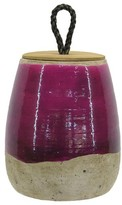 Threshold Pink Ceramic Vase with Lid - Tall