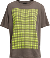Christopher Kane Stud-embellished cotton-jersey T-shirt