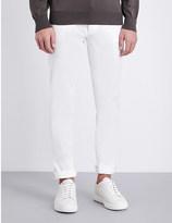 Brunello Cucinelli Slim-fit cotton trousers