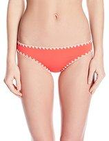 Lucky Brand Women's Night Dreamer Shell Stitch Bikini Bottom