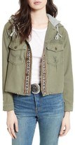 Free People Women's Weekend Wanderer Military Jacket