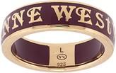 Vivienne Westwood Conduit Street logo ring