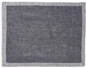 Hotel Collection Herringbone Navy Placemat, Created for Macy's