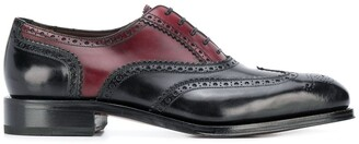 Salvatore Ferragamo dual-tone lace-up brogues