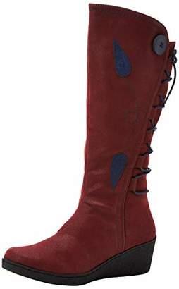 Joe Browns Women's Feeling Free Lace Back Boots High (Red Multi A), 7 (41 EU)