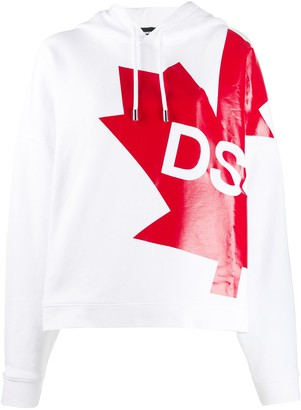 DSQUARED2 Canada flag hoodie