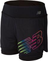 New Balance Pull-On Shorts Big Kid Girls
