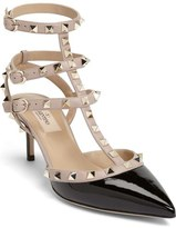 Valentino 'Rockstud' Pointy Toe Pump (Women)