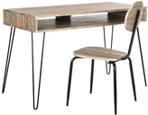 Safavieh Gray & Black Wandah Retro Desk & Chair
