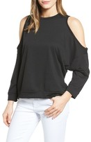 Women's Caslon Cold Shoulder Sweatshirt