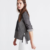 Madewell French Rib Side-Tie Pullover