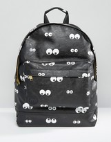 Mi-Pac Eyes Backpack Black