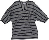 Splendid Apres Ski Stripe L/S Top - Charcoal-14
