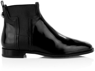 Tod's Elastic T Leather Chelsea Boots