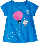 First Impressions Balloon-Print Cotton T-Shirt, Baby Girls, Created for Macy's