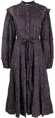 Ulla Johnson All-Over Print Dress