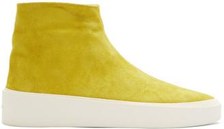 Fear Of God Yellow Tear-Away Moc Sneakers