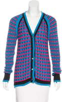 Prabal Gurung Rib Knit Wool Cardigan w/ Tags