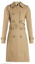 Stella McCartney Aylin bonded cotton trench coat