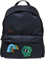 Moncler Patches Embellished Nylon Backpack