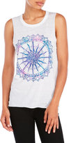 Chaser Compass Graphic Muscle Tank