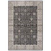 Panache Rizzy Home Collection Kylee Oriental Rectangular Rugs, One Size , Gray