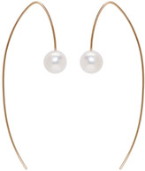 Pearls Before Swine Gold Akoya Pearl Drop Earrings