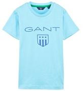 Gant Turquoise Shield Logo Tee