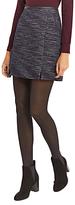 Oasis Tweed Poppy Skirt, Multi