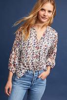 Tolani Janae Printed Henley Shirt