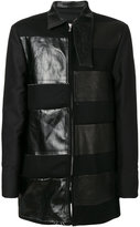 Rick Owens patched coat