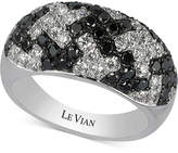 LeVian Le Vian Exotics® HoundstoothTM Diamond Ring (1-3/4 ct. t.w.) in 14k White Gold