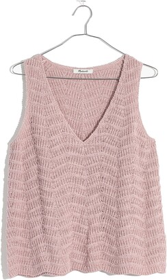 Madewell Crocheted Sweater Tank