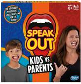 Hasbro Speak Out Kids Vs Parents Game From Gaming
