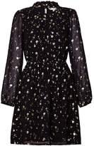 Yumi Foil Print Dress