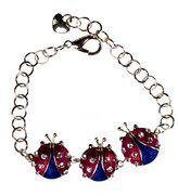 Stars & Stripes Products Patriotic Ladybug Bracelet