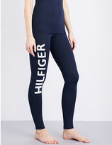 Tommy Hilfiger Flag Bold skinny mid-rise stretch-jersey leggings