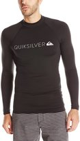 Quiksilver Men's Heater Long Sleeve Rash Guard