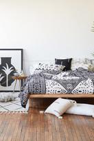 Urban Outfitters Eva Tile Crinkle Gauze Duvet Cover