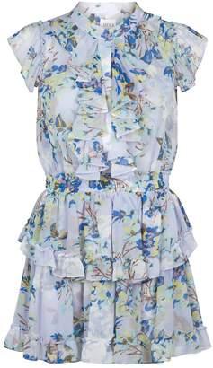 MISA Los Angeles Alona Floral Mini Dress