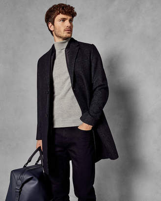 Ted Baker CAMBEAR Wool overcoat with removable inner