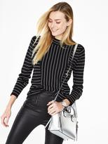 Very Turtle Neck Mixed Stripe Long Sleeve Jumper