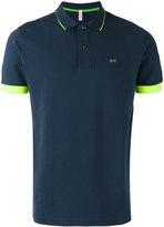 Sun 68 contrast polo shirt - men - Cotton/Spandex/Elastane - L
